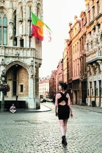 グランプラス広場から広がる小径にはそれぞれ異なる趣をみつけることができる。