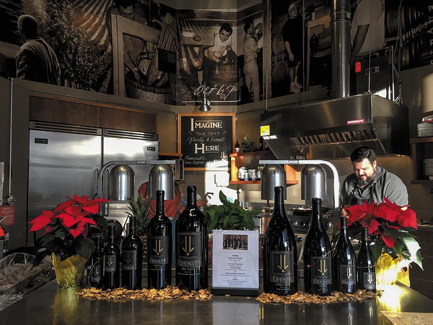EFESTE WINERY 家族経営のワイナリーで受賞ワインも多数。
